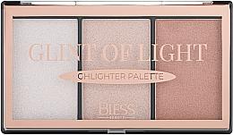 Духи, Парфюмерия, косметика Палетка хайлайтеров - Bless Beauty Glint Of Light Highlighter Palette