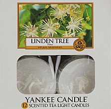 Духи, Парфюмерия, косметика Чайные свечи - Yankee Candle Scented Tea Light Candles Linden Tree