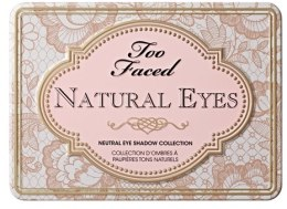 Палетка теней для век - Too Faced Natural Eyes Neutral Eye Shadow Collection — фото N2