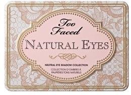 Палетка теней для век - Too Faced Natural Eyes Neutral Eye Shadow Collection — фото N2
