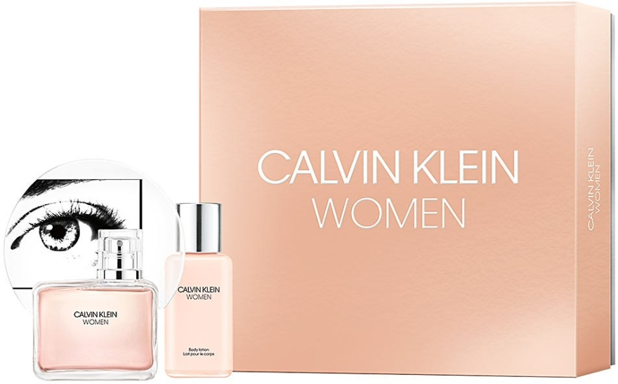 Calvin Klein Women - Набор (edp/100ml + b/lot/100ml)