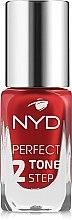 Духи, Парфюмерия, косметика Лак для ногтей - NYD Professional Perfect Tone 2 Step Nail Lacquer