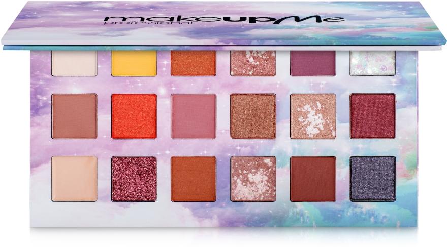 Профессиональная палитра теней 18 цветов, P18 - Make Up Me Professional