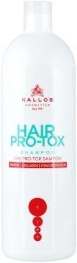 Шампунь для волос с кератином, коллагеном и гиалуроновой кислотой - Kallos Cosmetics Hair Pro-tox Shampoo