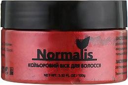 Духи, Парфюмерия, косметика Цветной воск для волос, темно-коричневый - Normalis