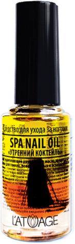 """Средство по уходу за ногтями """"Утренний коктейль"""" - Latuage Cosmetic Spa Nail Oil"""
