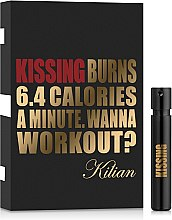 Духи, Парфюмерия, косметика Kilian Kissing Burns 6.4 Calories a Minute. Wanna Workout? - Парфюмированная вода (пробник)