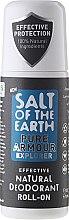 Духи, Парфюмерия, косметика Натуральный шариковый дезодорант - Salt of the Earth Pure Armour Explore Roll-On Deo