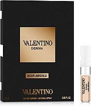 Духи, Парфюмерия, косметика Valentino Donna Noir Absolu - Парфюмированная вода (пробник)
