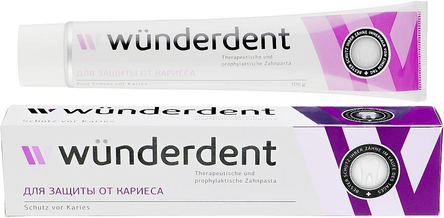 Зубная паста для защиты от кариеса - Wunderdent