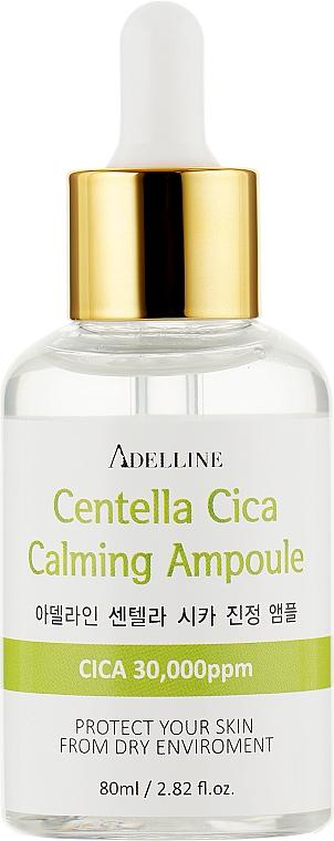 Ампула-сыворотка питательная и успокаивающая с центеллой для лица - Adelline Cica Calming Ampoule