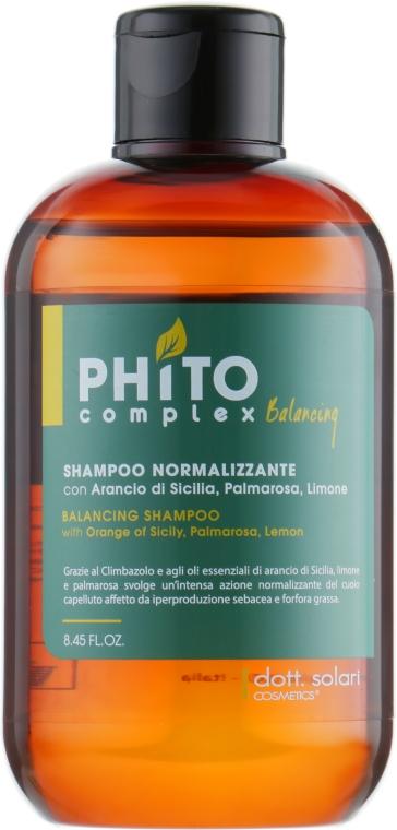 Балансирующий шампунь - Dott. Solari Phito Complex Balancing Shampoo