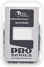 Духи, Парфюмерия, косметика Шпильки для волос волнистые тонкие 46мм, черные - Tico Professional Pro Series