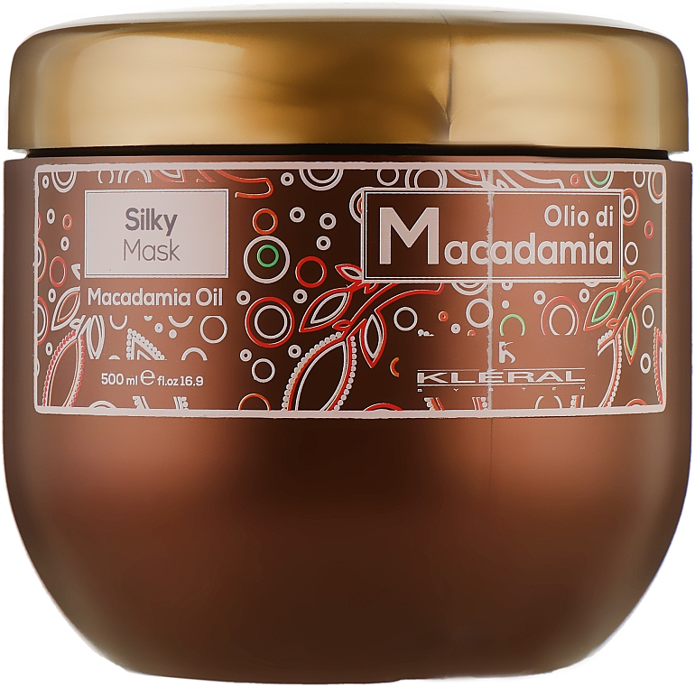 Маска-шелк с маслом макадамии - Kleral System Olio Di Macadamia Silky Mask
