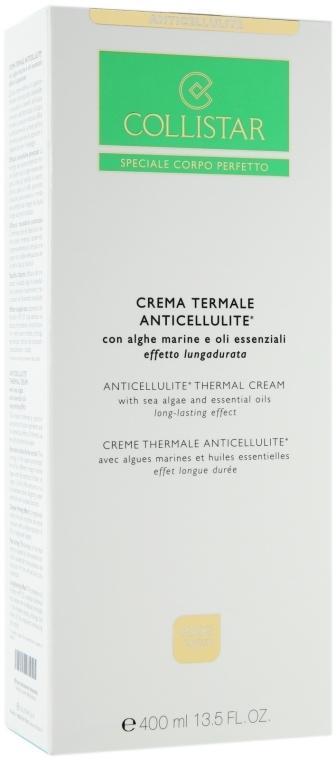 Антицеллюлитный термальный крем - Collistar Anticellulite Thermal Cream