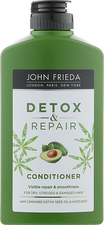 Кондиционер для восстановления и гладкости волос - John Frieda Detox & Repair Conditioner