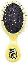Духи, Парфюмерия, косметика Расческа компактная, желтая - Wet Brush Mini Squirt Classic