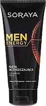 Духи, Парфюмерия, косметика Очищающая паста для лица - Soraya Men Energy