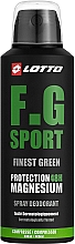 Духи, Парфюмерия, косметика Lotto Finest Green Sport Spray Deodorant - Дезодорант-спрей