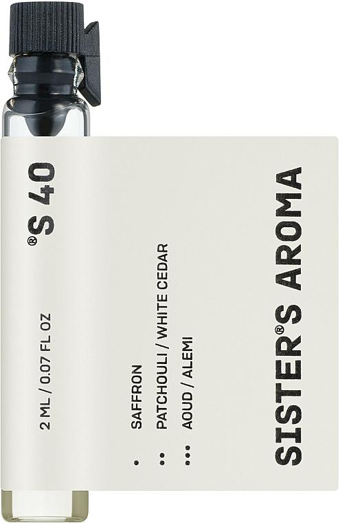 Sister's Aroma 40 - Парфюмированная вода (пробник)
