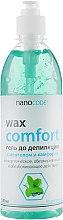 Духи, Парфюмерия, косметика Гель до депиляции с ментолом и камфорой - NanoCode Wax Comfort Gel