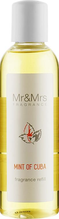 "Наполнитель для аромадиффузора ""Мята Кубы"" - Mr&Mrs Mint of Cuba Fragrance Refill"