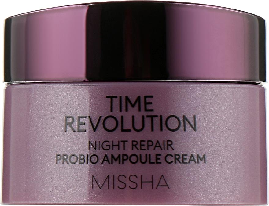 Восстанавливающий ночной крем - Missha Time Revolution Night Repair Probio Ampoule (мини)