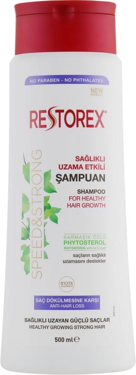 Шампунь от выпадения волос - Restorex Speed&Strong Anti-Hair Loss Shampoo