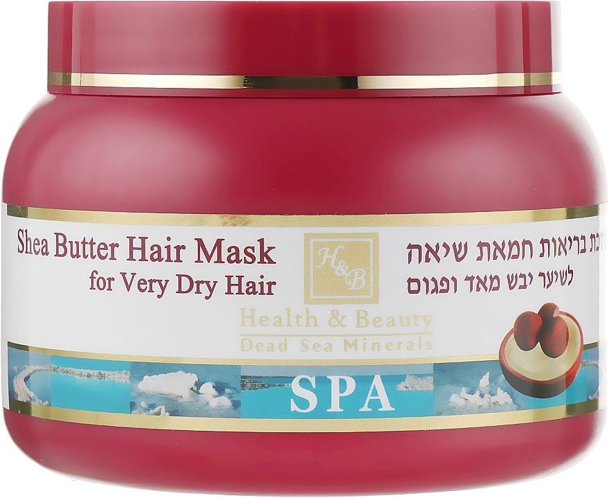 Маска для очень сухих волос на основе масла ши - Health And Beauty Shea Butter Hair Mask