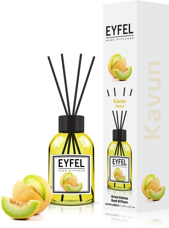 "Аромадиффузор ""Дыня"" - Eyfel Perfume Reed Diffuser Melon"