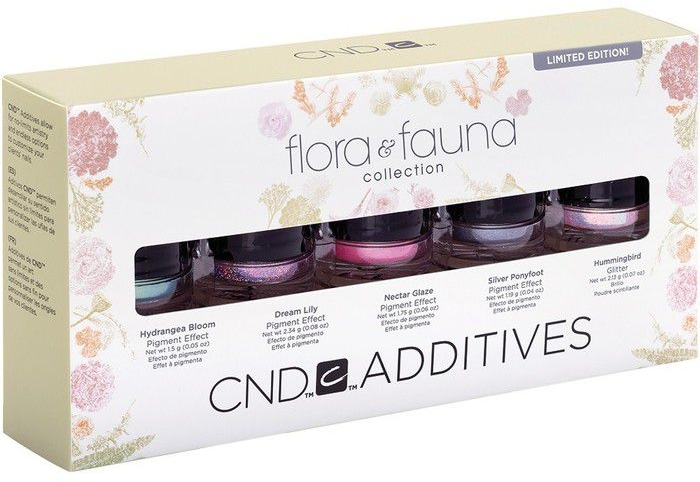 Набор пигментов для маникюра - CND Additives Flora & Fauna Collection