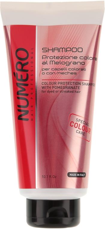 Шампунь для защиты цвета волос с экстрактом граната - Brelil Professional Numero Colour Protection Shampoo