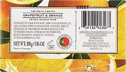 "Мыло ""Грейпфрут и апельсин"" - The Somerset Toiletry Co. Tropical Fruits Soap — фото N2"
