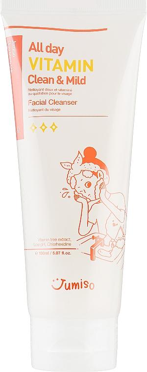 Очищающее средство для лица - HelloSkin Jumiso All Day Vitamin Clean & Mild Facial Cleanser