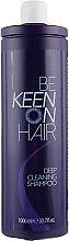 Духи, Парфюмерия, косметика Шампунь для волос глубокой очистки - Keen Deep Cleaning Shampoo