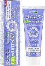 "Духи, Парфюмерия, косметика Зубная паста ""Безопасное отбеливание"" - R.O.C.S. Bio Whitening"