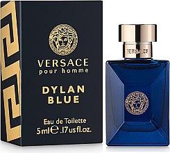 Духи, Парфюмерия, косметика Versace Dylan Blue Pour Homme - Туалетная вода (мини)