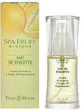 Духи, Парфюмерия, косметика Frais Monde Spa Fruit Orange And Chilli Leaves - Туалетная вода