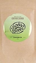 Кофейный скраб с коноплей - BodyBoom Cannabis Oil Coffee Scrub — фото N1