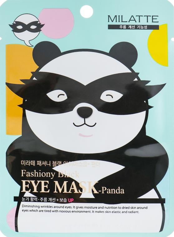Маска от морщин и темных кругов вокруг глаз - Milatte Fashiony Black Eye Mask Panda