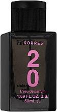 Духи, Парфюмерия, косметика Korres L'Eau de Parfum 20 Rose Musk Vanilla Powder - Парфюмированная вода (тестер с крышечкой)