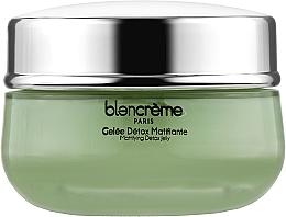 Духи, Парфюмерия, косметика Крем-желе матирующий для лица с Зеленым чаем - Blancreme Mattifying Detox Jelly
