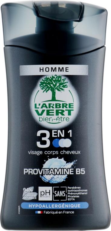 """Крем-гель для душа 3 в 1 """"Провитаминами B5"""" - L'Arbre Vert Cream Shower Gel"""