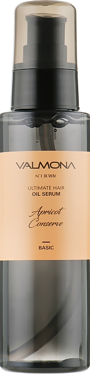 Сыворотка для волос с экстрактом абрикоса - Valmona Premium Apricot Ultimate Hair Oil Serum