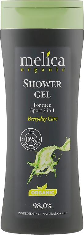"""Гель для душа """"Спорт"""" 2в1 для мужчин - Melica Organic Shower Gel"""