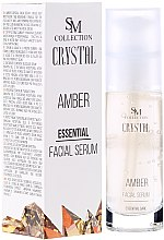 Духи, Парфюмерия, косметика Природная янтарная гелевая сыворотка - Hristina Cosmetics SM Crystal Amber Facial Serum