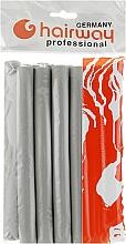 Духи, Парфюмерия, косметика Гибкие бигуди длина 180мм d19, серые - Hairway Flex-Curler Flex Roller 18cm Grey