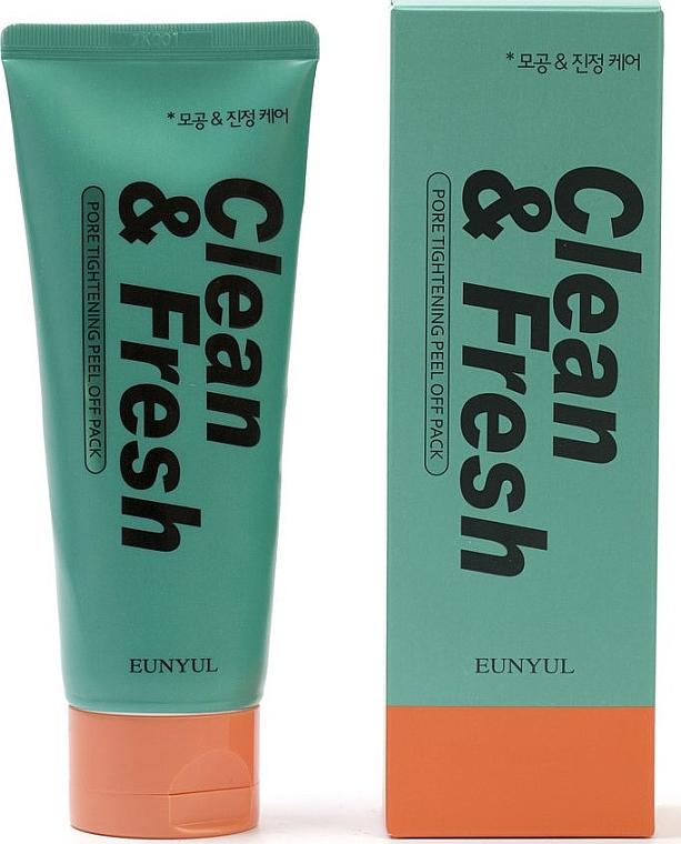 Очищающая пенка для лица сужающая поры - Eunyul Clean & Fresh Pore Tightening Foam Cleanser