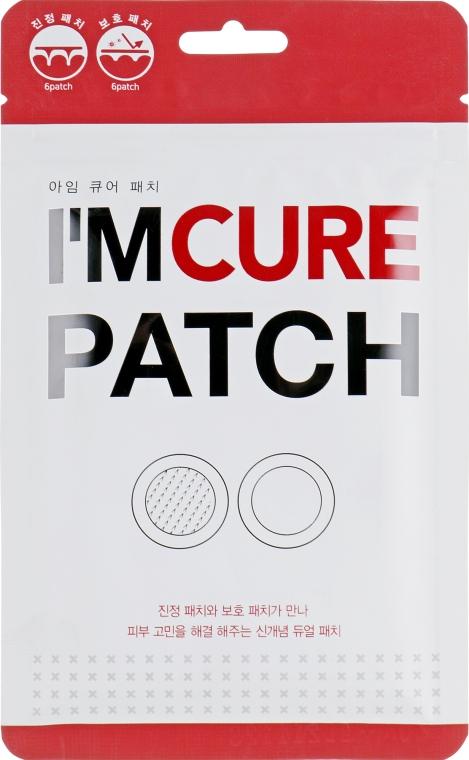 Лечебные патчи против прыщей - Karatica I'm Cure Patch