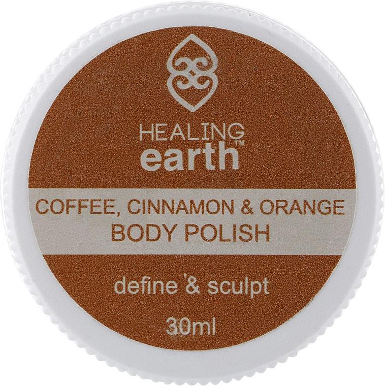 "Антицеллюлитный скраб для тела ""Кофе, корица и апельсин"" - Healing Earth, Cofee, Cinamon & Orange Body Polish"